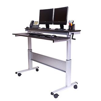 Stand Up Desk Store 60 Crank Steel